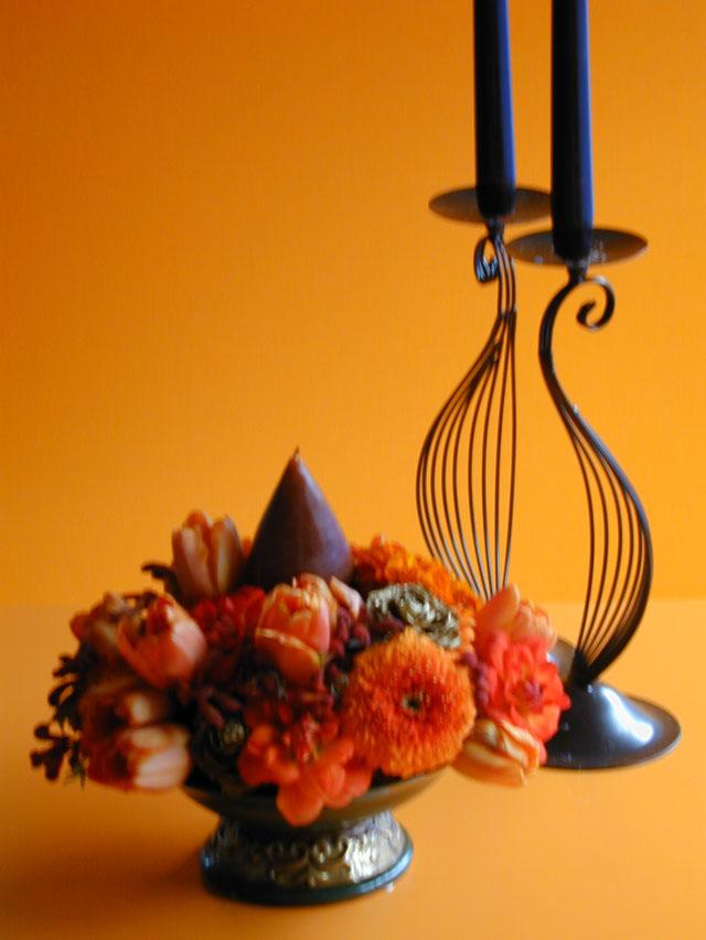 BEST FLOWER ARRANGEMENT掲載 アルザス地方のクリスマスアレンジメント