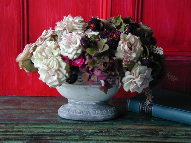 BEST FLOWER ARRANGEMENT掲載 バラのクラシックアレンジメント