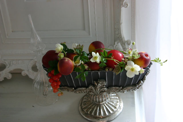 BEST FLOWER ARRANGEMENT掲載 フルーツのウエルカムフラワー